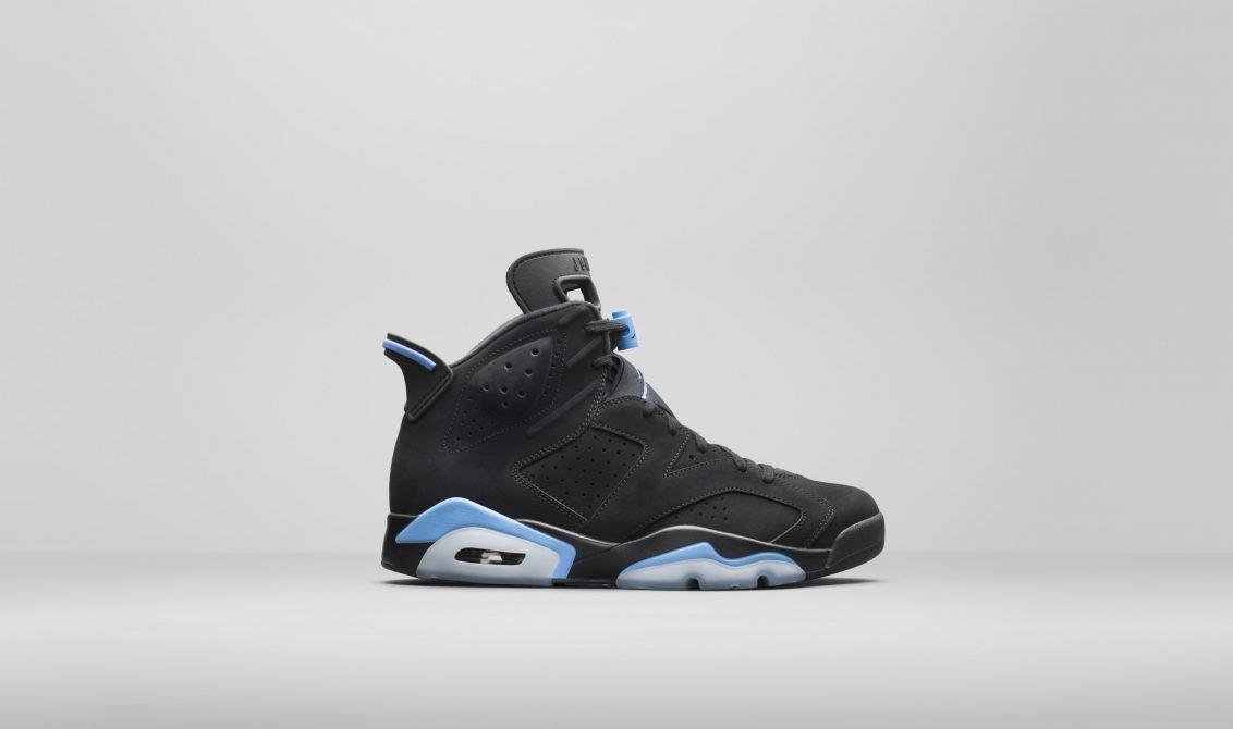 Jordan VI Black/University Blue