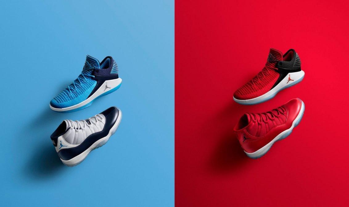 Jordan Brand Holiday '17 collection