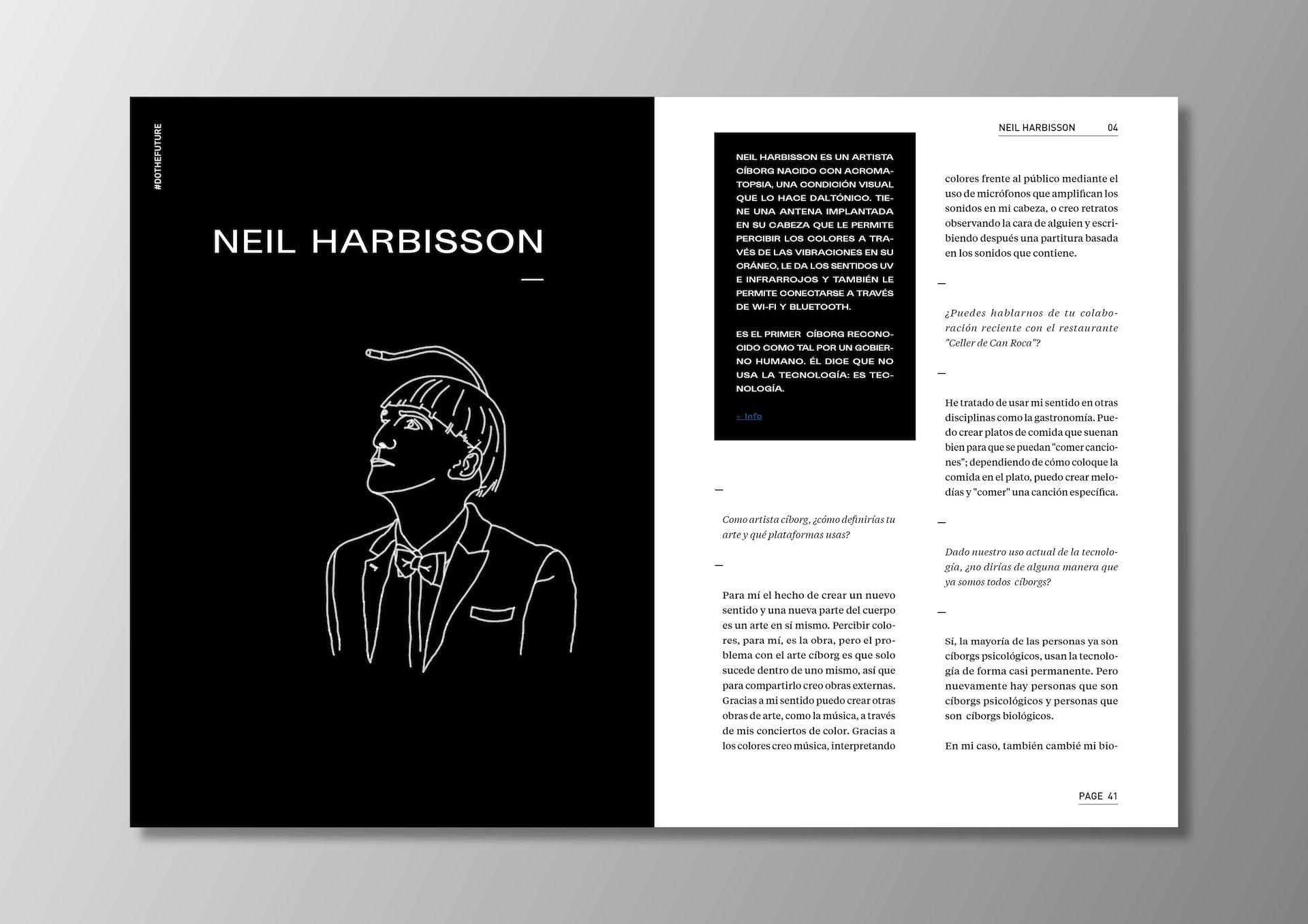 DOTHEFUTURE Neil Harbisson