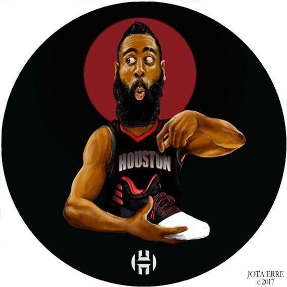 James Harden por Jota Erre