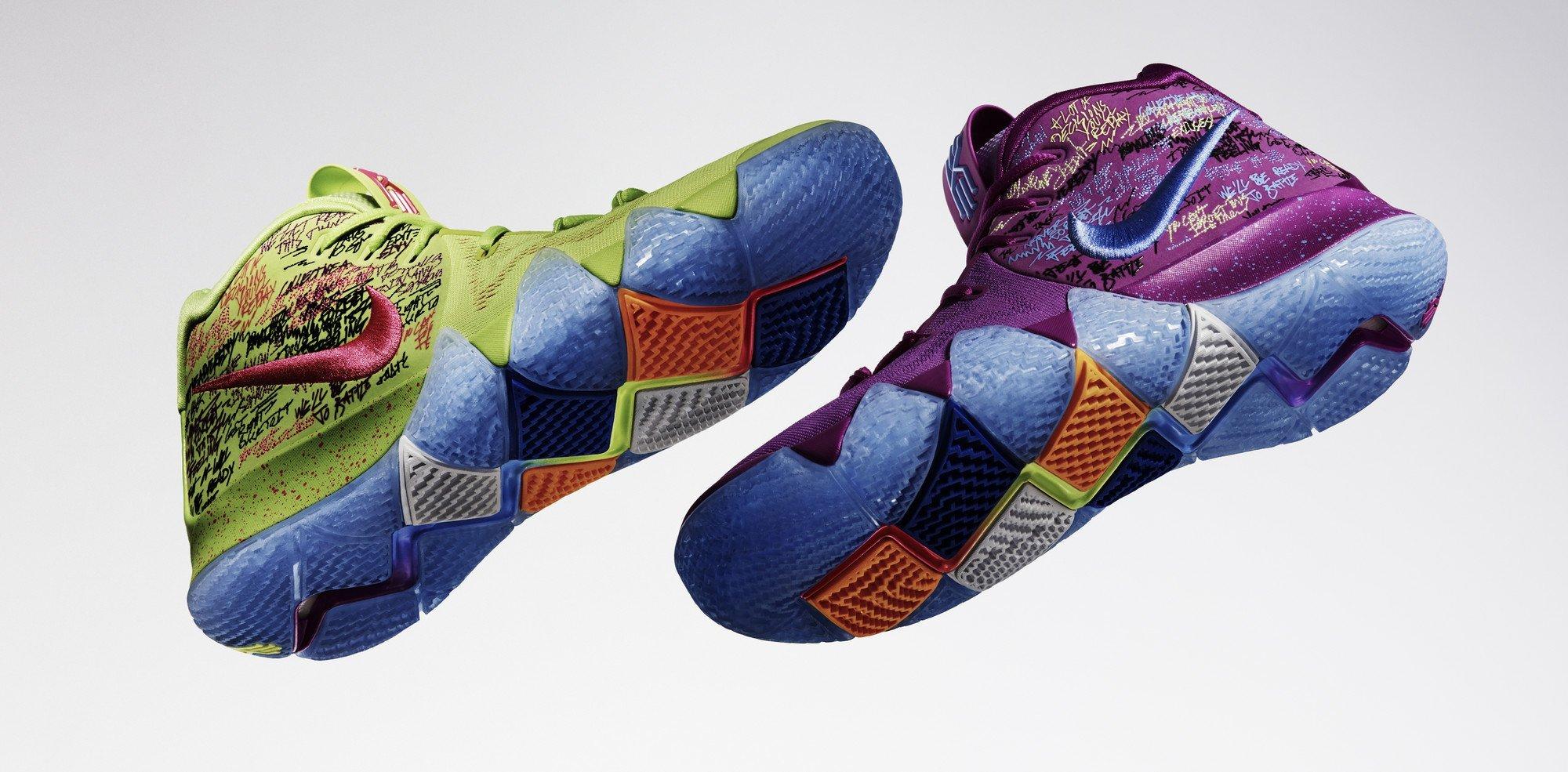 "Nike Kyrie 4 ""Confetti"""
