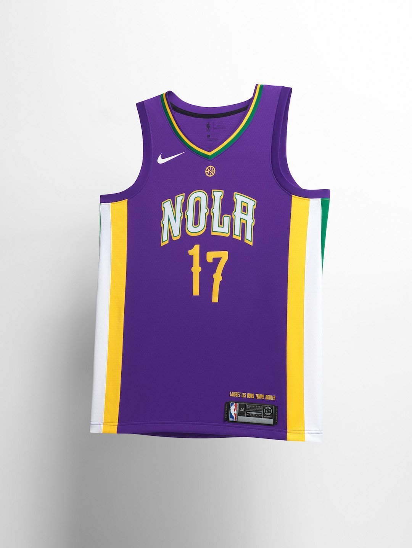 Pelicans City Edition Uniform 2018