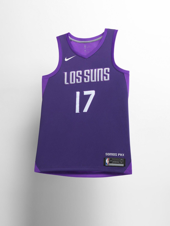 Suns City Edition Uniform 2018