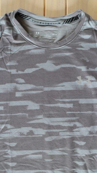 Camiseta de manga corta de malla UA Threadborne™ Run para hombre