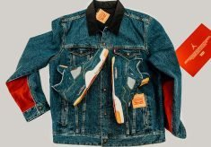 Levi's Jordan - Trucker Jacket plus Jordan IV